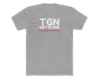 TGN Network Men's Cotton Crew Tee