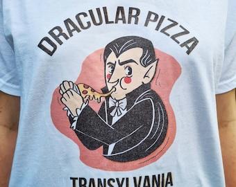 Dracula Pizza T-shirt