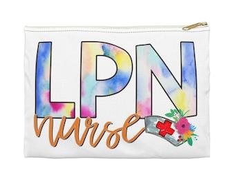 LPN favorite pouch - LPN Nurse double prints