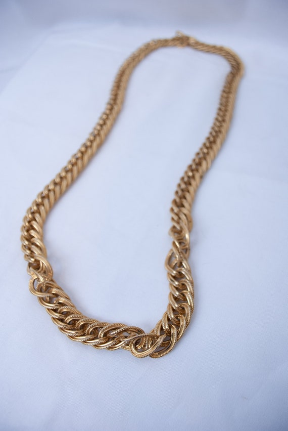 Long Vintage Gold Chain