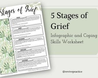5 Stages of Grief Worksheet