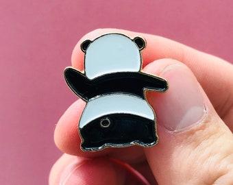 Cute Panda Pin Badge   Dancing Panda Enamel Lapel Pin Badge Cartoon Panda Soft Enamel Brooch Cute Pin Cool Gift