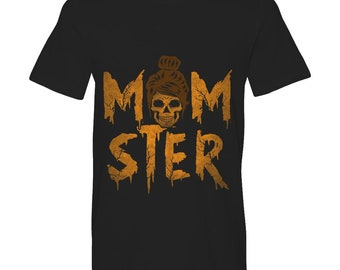 Momster T-shirts , Women tee standard t , Funny Halloween shirt for mom.