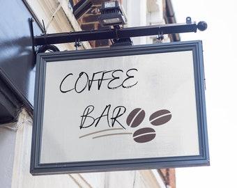 Coffee Bar Digital Print