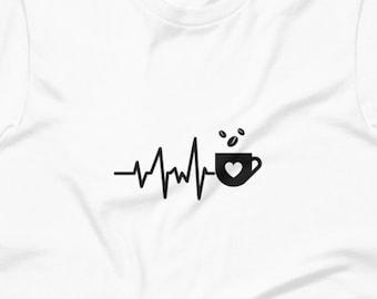 Coffee Heartbeat Digital Print