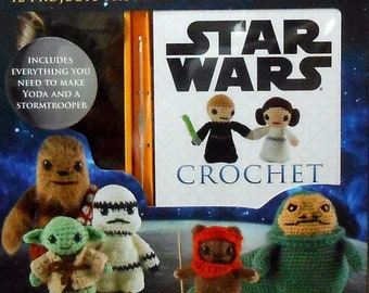 Star Wars Crochet kit #15245 Yoda and Stormtrooper by Lucy Collin