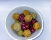 Floral Grass Ball Treats For Rabbits/Small Animals