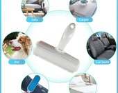 High Quality Pet Hair Roller Remover Lint Brush 2-Way for Dog, Cat and other small animals. Brush Tool for Convenient Cleaning of Furniture