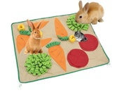 Pet Foraging Mat for Rabbits and Small Animals