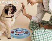 Dog Puzzle Slow Feeder IQ Training & Mental Enrichment