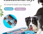 Interactive Dog Foraging Puzzle Slow Feeder for Mental Enrichment