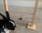Rabbit Hopping Hurdle, Agility, Jump, and Chew Toy
