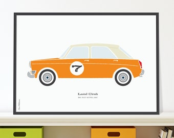 Riley Kestrel Jpeg download. Classic cars for children's rooms