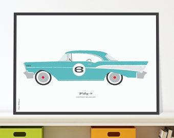 57 Chevrolet Bel Air Jpeg download