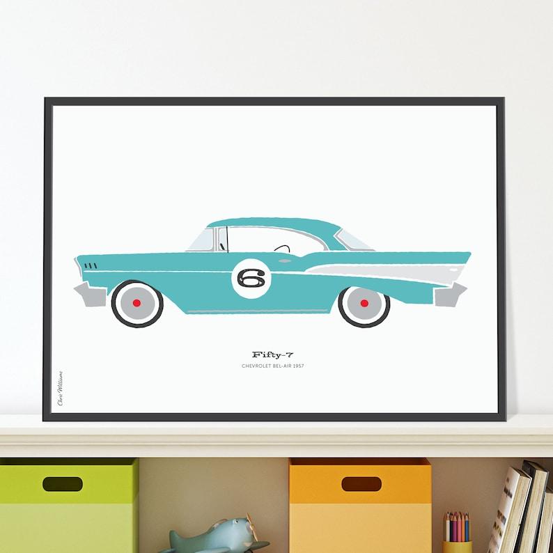 57 Chevrolet Bel Air Jpeg download image 0