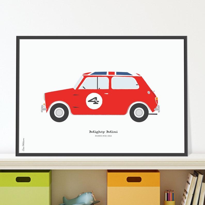 Morris Mini Jpeg download. Classic British Mini for 4 year old image 0