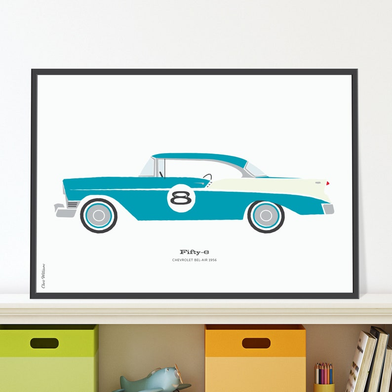 56 Chevrolet Bel Air Jpeg download image 0