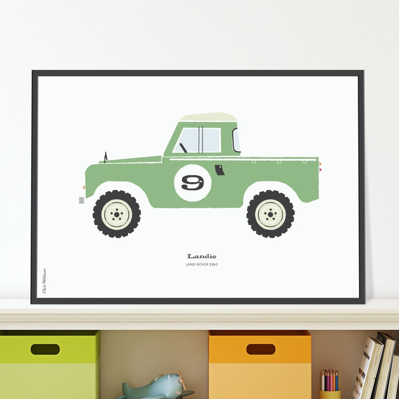 Land Rover Jpeg download. Great boys birthday extra. image 0