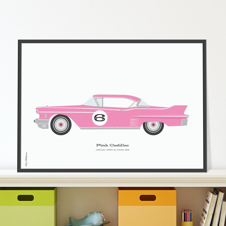 Pink Cadillac Jpeg download. A classic Caddy for your 6 year image 0