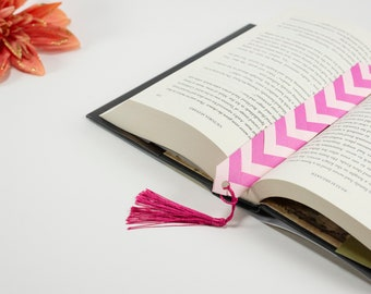 Custom Braided Paper Bookmarks