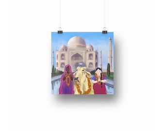 India Print ~ Downloadable Art Prints ~ Printables ~ Printable Art ~ Downloadable ~ Download Art ~ Posters ~ Printable Posters ~ Mice