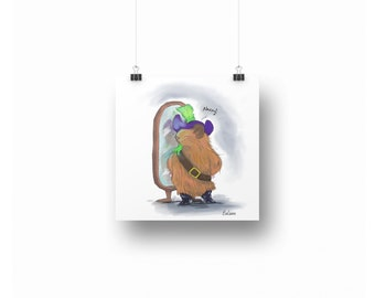 Pirate Pig ~ Downloadable Art Prints ~ Pig Printables ~ Printable Art ~ Downloadable ~ Download Art ~ Posters ~ Printable Posters ~ Pirates