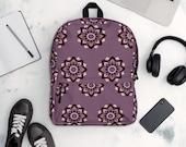 Weekender Bag, Backpack in Purple