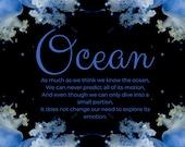 Ocean Jelly Fish Artwork Canvas