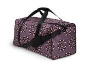Weekender Bag Women - Purple Floral - Weekender Bag | Overnight Bag | Duffle Bag | Duffle Bag Women | Weekend Bag | Duffel Bag For Sports