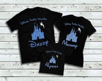 Disney Family Vacation T-Shirt, Disney Shirt, Family Shirt, Vacation Shirt, Custom Shirt