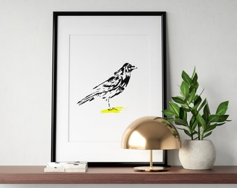 Canary in Yellow Poster