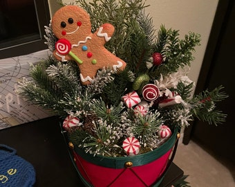 Christmas Holiday Table Decorations - Small
