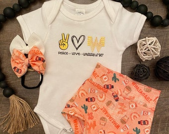 Whataburger Baby Girl Set