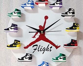 Jordan Clock | Etsy