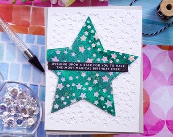 Magical Birthday Card | Green