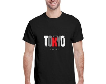 Vintage Retro Tokyo Japan T-shirt Distressed 2021