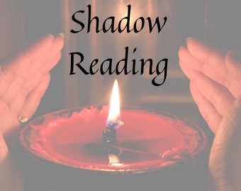 Shadow Reading with Ritual, gift for friend, tarot card reading, personalized gift, Goth, Witch, Wicca, Evil-Eye
