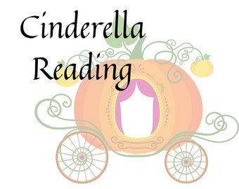 Cinderella Romance Reading with Ritual, Love Reading, Gift for Friend, Tarot Card Reading, Ritual tools