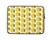 Lemon Fruit Laptop Sleeve Neoprene Lightweight