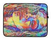 OMG Laptop Sleeve with Graffiti Art