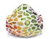 Vegetables Fruits Premium face mask
