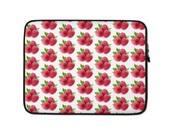 Raspberry Raspberries Laptop Sleeve Neoprene