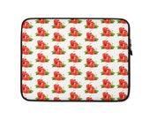 Red Peppers Laptop Sleeve Neoprene Lightweight