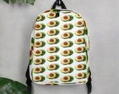 Avocado Guacamole Minimalist Backpack