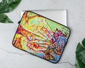 Butterfly Art Graffiti Esoteric Laptop Sleeve Esoteric