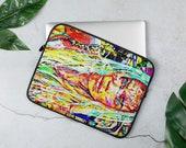 Rad Artistic Laptop Sleeve with Graffiti