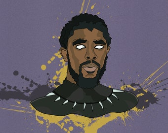 T'challa | The Black Panther Framed Poster