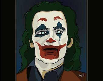 Joker | Joaquin Phoenix Framed Poster