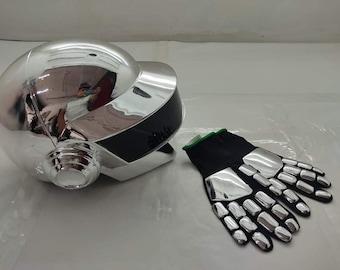 Kit Helmet Daft Punk Thomas bangalter gloves.