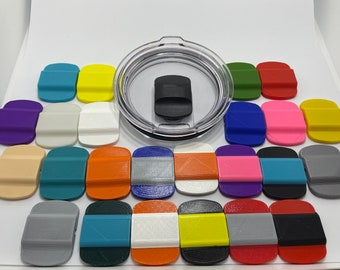 Custom Magnetic Lid Slider Replacement: Fits all Yeti Rambler Magnetic Sliding Lids. BPA-Free. For Magslider Lids.
